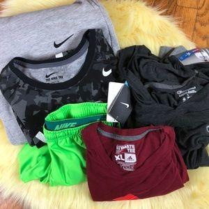 Other - MENS Sports wear bundle! Size Large